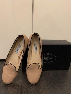 Prada Patent Leather Ballerinas pink