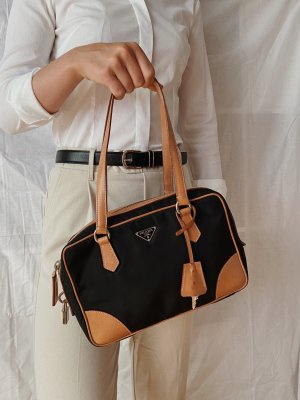 Prada bauletto bag nylon