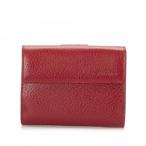 Prada Bi-fold Leather Wallet