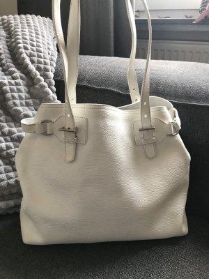 Prada Blogger weiss Hand Tasche