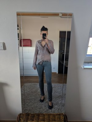 Prada Bluse in Taupe