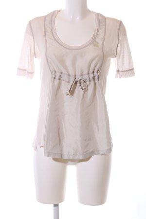 Prada Davantino (per blusa) bianco sporco stile professionale