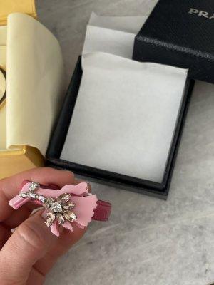 Prada Armband roze-framboosrood Leer