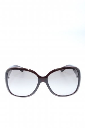 Prada Brille schwarz-braun Farbverlauf Business-Look