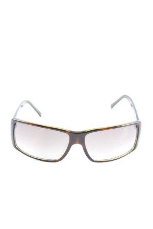 Prada Brille schwarz-braun Farbverlauf Casual-Look