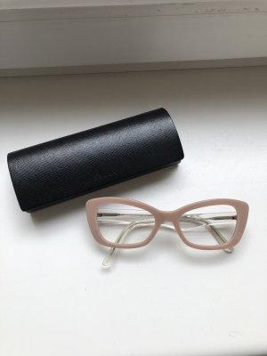 Prada Gafas rosa empolvado-rosa