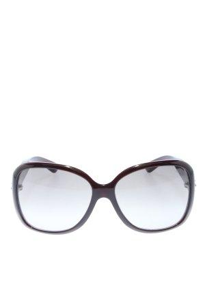 Prada Gafas negro-marrón degradado de color estilo «business»