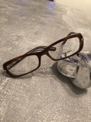 Prada Brillenfassung in kastanienbraun, neu! KP 190€