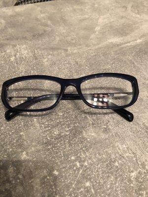 Prada Brillenfassung neu! Royalblau, Kp 160€