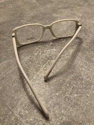 Prada Brillenfassung weiß, neu