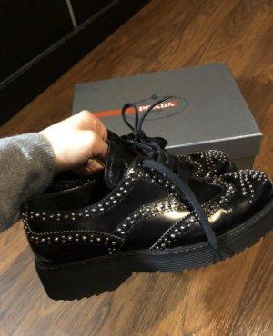 Prada Zapatos brogue negro