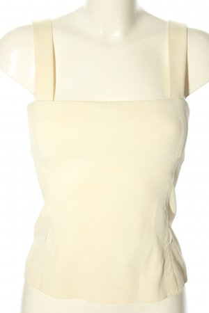 Prada Bustier Top natural white casual look