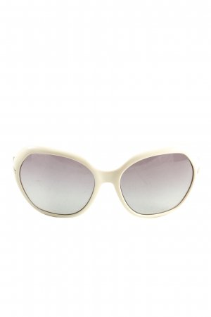 Prada Oval Sunglasses natural white-light grey casual look