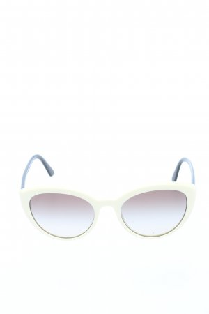 Prada Butterfly Glasses black-natural white casual look