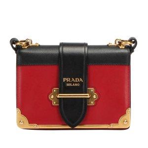 Prada Crossbody bag red leather