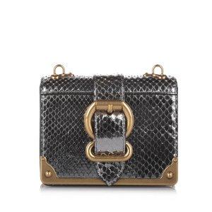 Prada Cahier Leather Crossbody Bag