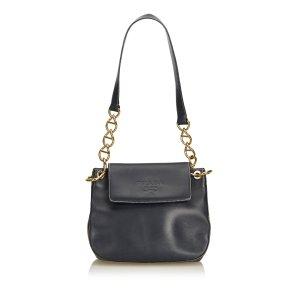 Prada Calf Leather Chain Shoulder Bag