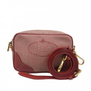 Prada Canapa Canvas Crossbody Bag