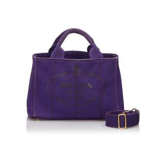 Prada Satchel purple