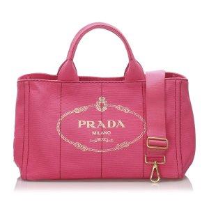Prada Cartella rosa pallido