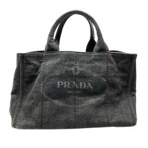 Prada Satchel green cotton