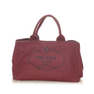 Prada Canapa Logo Handbag