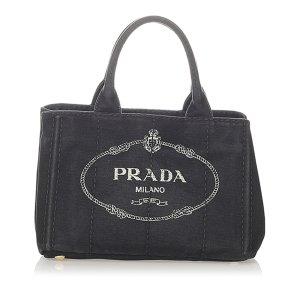 Prada Satchel dark grey