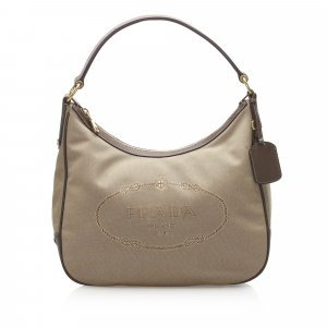 Prada Canapa Logo Shoulder Bag