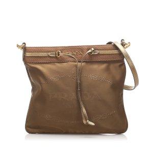 Prada Canapa Nylon Crossbody Bag