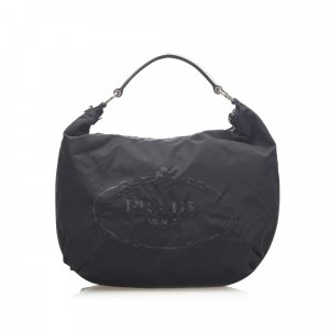 Prada Sac hobo noir nylon