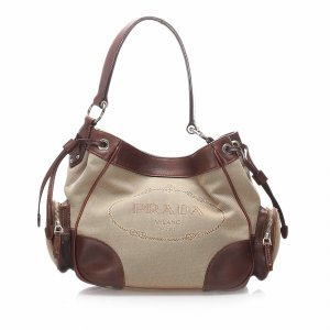 Prada Canapa Shoulder Bag