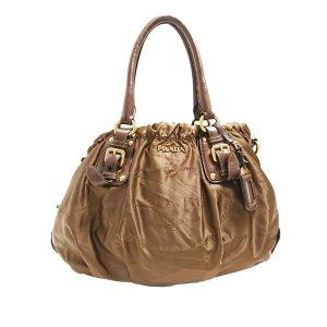 Prada Satchel brown nylon