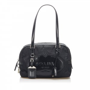 Prada Canapa Tessuto Shoulder Bag