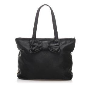 Prada Canapa Tessuto Tote Bag