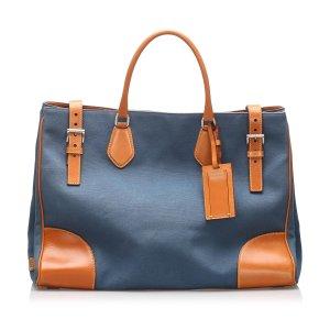 Prada Canapa Tote Bag