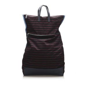Prada Canvas Backpack
