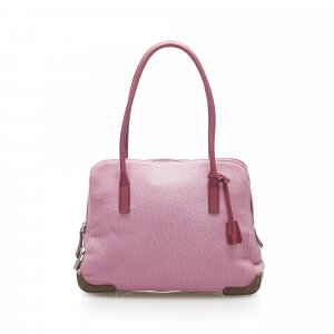 Prada Canvas Handbag