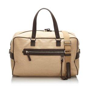 Prada Canvas Travel Bag