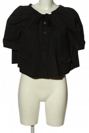 Prada Carmen-Bluse schwarz Casual-Look