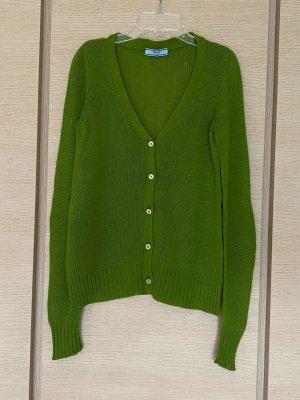 Prada Pullover in cashmere verde-verde bosco