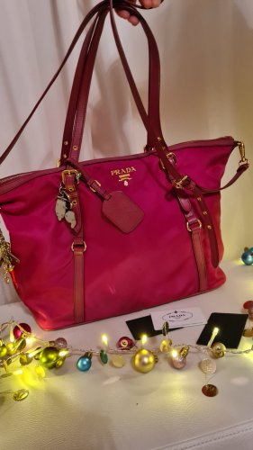 Prada Shopper rose