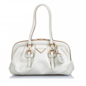 Prada Cinghiale Frame Shoulder Bag