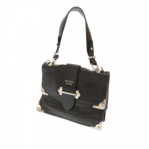Prada City Calf Cahier Satchel