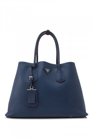 Prada City Calf Double Cuir Tote