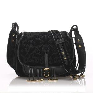 Prada Corsaire Velvet Crossbody Bag