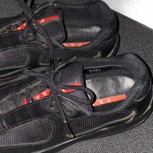 Prada Cup sneaker leather + mesh