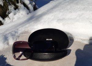Prada Gafas de sol cuadradas lila grisáceo