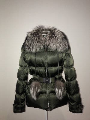 PRADA Daunen Jacke mit Fuchs Fell