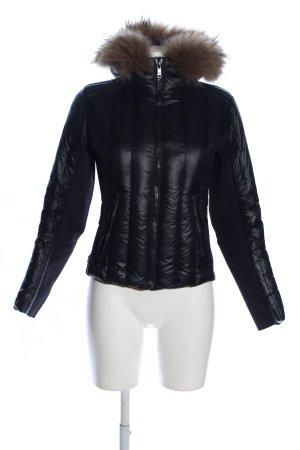 Prada Down Jacket black quilting pattern casual look