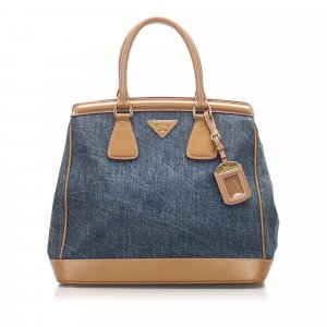 Prada Denim Handbag